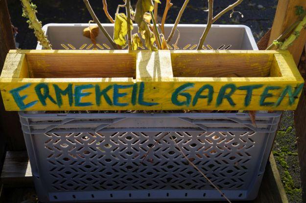 Foto des Urban Gardening Projekts der Ermekeilinitiative