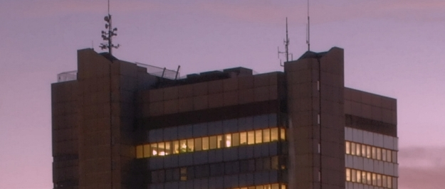 Foto von der oberen Etage des Stadthauses der Stadt Bonn