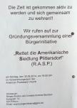 """Flugblatt der Bürgerinitiative """"Rettet die Amerikanische Siedlung Plittersdorf"""" (RASP), S. 4"""