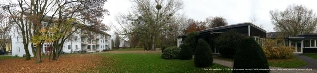 Foto in der Amerikanischen Siedlung Plittersdorf