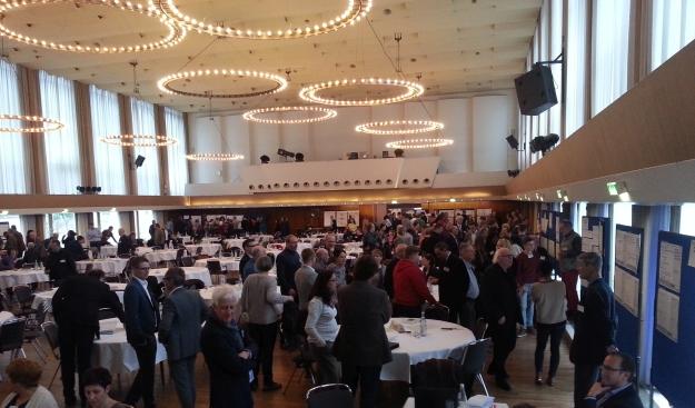 Foto aus der Godesberger Stadthalle beim Zukunftsforum Bonn 2030 am 30.1.2016