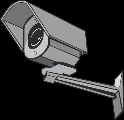 Grafik einer Videoüberwachungskamera