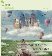 Cover des Heft 1/2017 der Informationen zur Raumentwicklung (IzR) des Bundesinstituts für Bau-, Stadt- und Raumforschnung (BBSR)