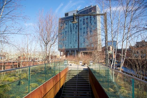 Foto von Dirk Olbertz vom High Line Park New York 2010