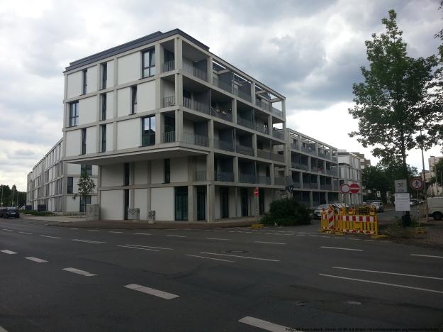 Foto des Studentenwohnheims Posener Weg in Bonn-Tannenbusch am 15.7.2017