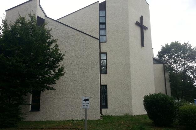 Foto der katholischen Kirche in Bonn-Tannenbusch am 15.7.2017