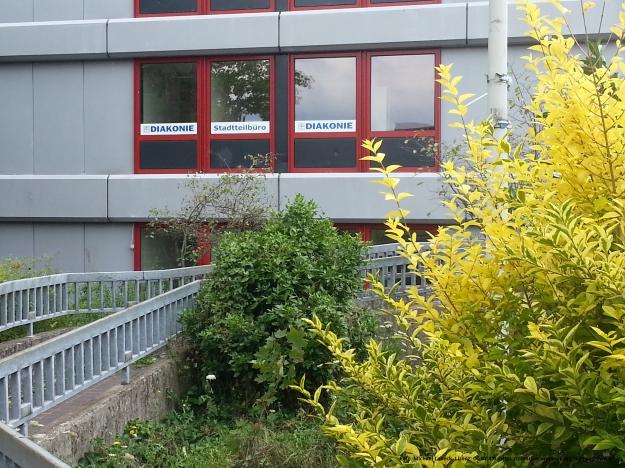 Foto des Stadtteilbüros der Diakonie in Bonn-Tannenbusch am 15.7.2017