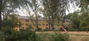 Foto eines Bestandsgebäudes der Vebowag an der Siemensstraße im Bereich des neuen Bebauungsplanes 6632-2 Bonn-Vogelsang